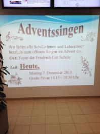Adventssingen 2015